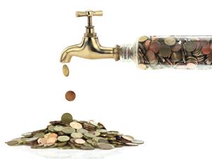 money-water